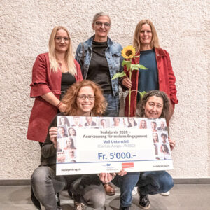 2. Preis Sozialpreis 2020: Voll Unterschti! (Caritas Aargau/KRSD)