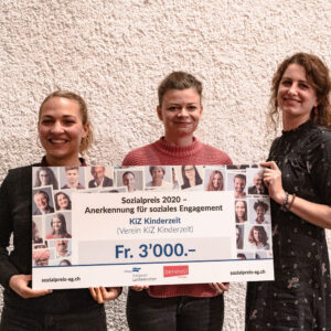 3. Preis Sozialpreis 2020: KiZ Kinderzeit (Verein KiZ Kinderzeit)